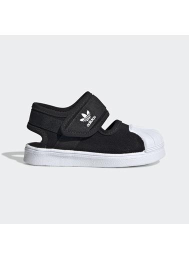 adidas Unisex Çocuk Superstar 360 Sandalet EG5711 Siyah